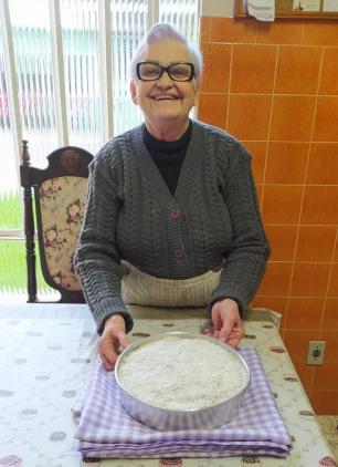 Bolo de milho da dona Eva: saiba como fazer a receita que leva queijo ralado e leite de coco Arquivo Pessoal/Arquivo Pessoal