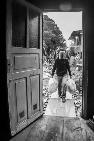 """""""Cestas culturais"""": projeto leva alimentos e promove acesso à cultura na periferia da Capital Tanam Alves Hennicka/Cirandar"""