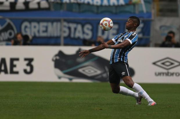 Guerrinha: Orejuela mostrou que pode brigar por titularidade no Grêmio Jefferson Botega/Agencia RBS