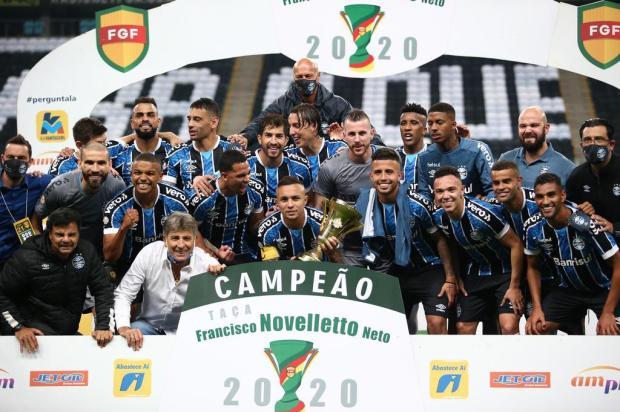 Luciano Périco: Gre-Nal teve a vitória da imposição técnica na Arena Jefferson Botega/Agencia RBS