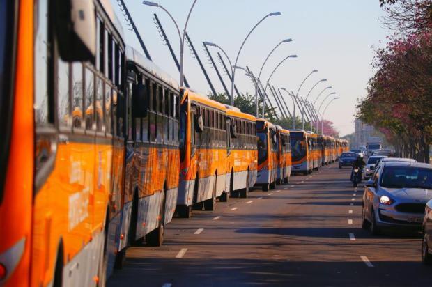 Depois de um ano e meio do anúncio, Carris apresenta seus novos ônibus Lauro Alves/Agencia RBS