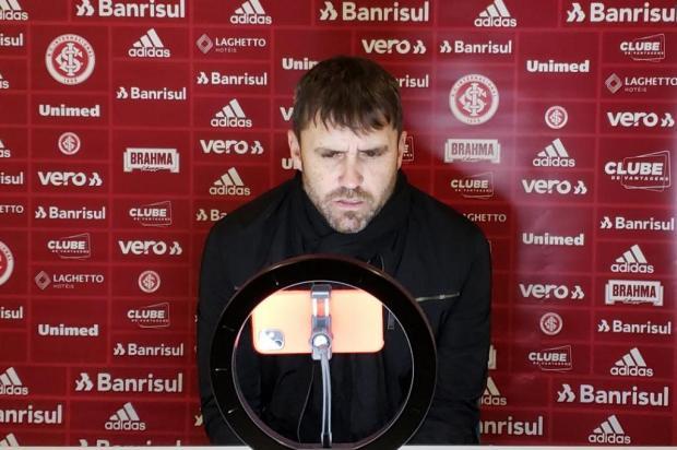 Luciano Périco: a especialidade de Eduardo Coudet que não estará em campo contra o Corinthians Inter/Twitter/Reprodução