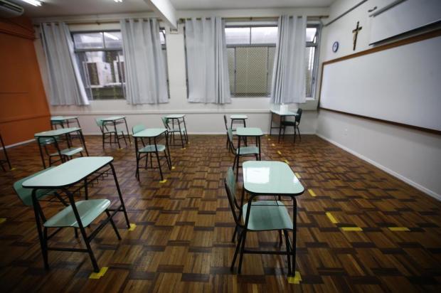 Para professores, volta às aulas no Rio Grande do Sul é perigo para comunidade escolar Félix Zucco/Agencia RBS