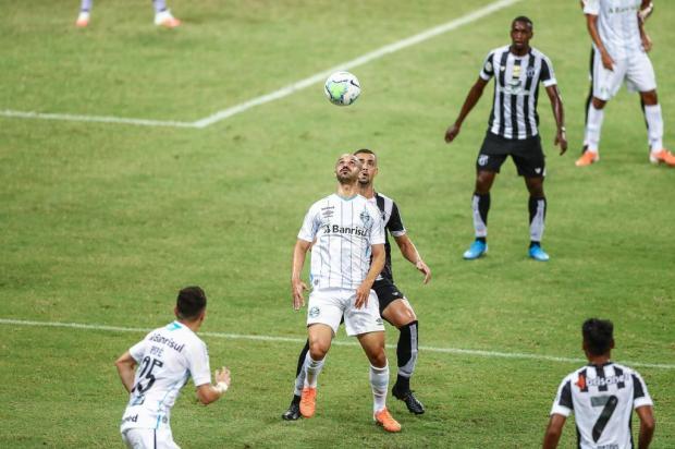 Cacalo: é impressionante a falta que faz um centroavante LUCAS UEBEL/Grêmio / Divulgação