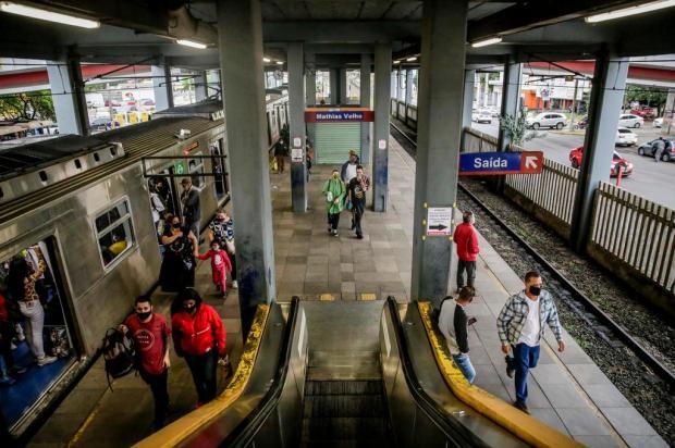 Trensurb inicia força-tarefa para consertar escadas rolantes Marco Favero/Agencia RBS