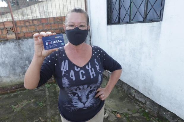 Cartão Social é distribuído para moradores de Porto Alegre que não recebem nenhum outro benefício Isadora Neumann/Agencia RBS