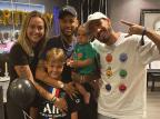 Neymar e Carol Dantas se encontram em Paris para celebrar aniversário do filho Vinicius Martinez Instagram / Reprodução/Reprodução