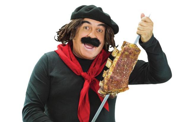 """Guri de Uruguaiana desabafa: """"Que saudade de um espeto corrido!"""" Artebiz/Divulgação"""