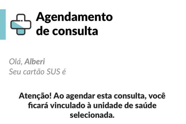 Postos de saúde da Capital permitem agendamento de consultas pelo celular Reprodução/Reprodução