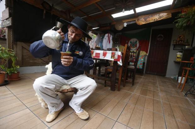 Como vive um capataz sem os piquetes no Parque Harmonia Lauro Alves/Agencia RBS