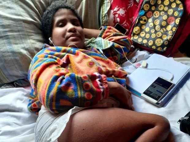 Menina com paralisia cerebral faz vaquinha para realizar cirurgia, em Novo Hamburgo arquivo pessoal/arquivio pessoal