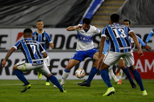 Guerrinha: as carências do time do Grêmio Marcelo Hernandez/POOL/AFP