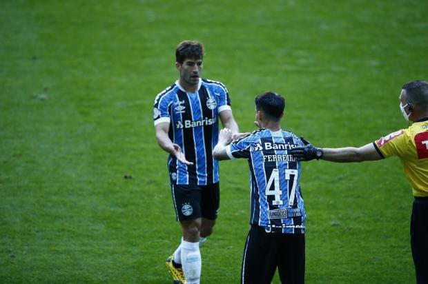 Cacalo: a importância da marcação no setor de meio-campo do Grêmio Félix Zucco/Agencia RBS