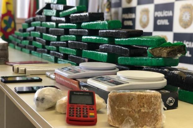 Polícia investiga quadrilha que envia drogas para presídios com ajuda de drones Polícia Civil/Divulgação