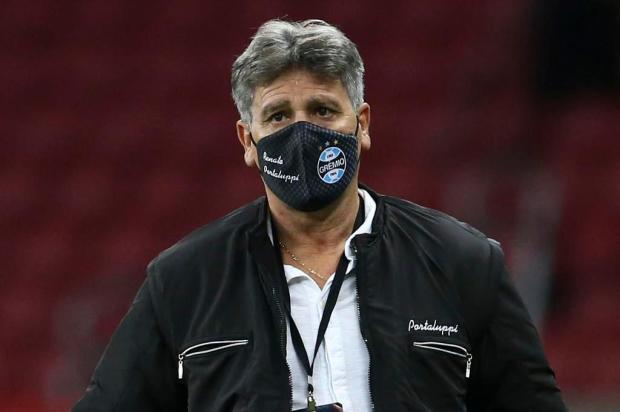 Luciano Périco: não é hora de poupar no Brasileirão, Renato Portaluppi DIEGO VARA/AFP