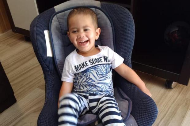 Bebê atingido na cabeça por bala perdida recebe alta em Passo Fundo Arquivo Pessoal/Arquivo Pessoal