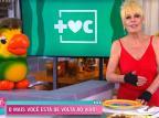 """Com visual retrô, Ana Maria Braga volta a comandar o """"Mais Você"""" Reprodução/Globoplay"""