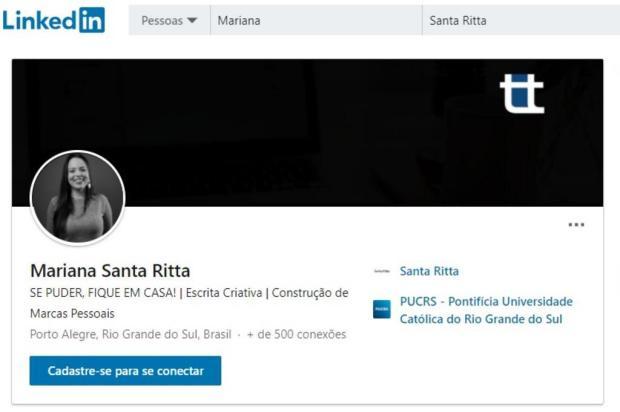 Conhece o LinkedIn? A rede social pode te ajudar a encontrar um emprego Reprodução/LinkedIn