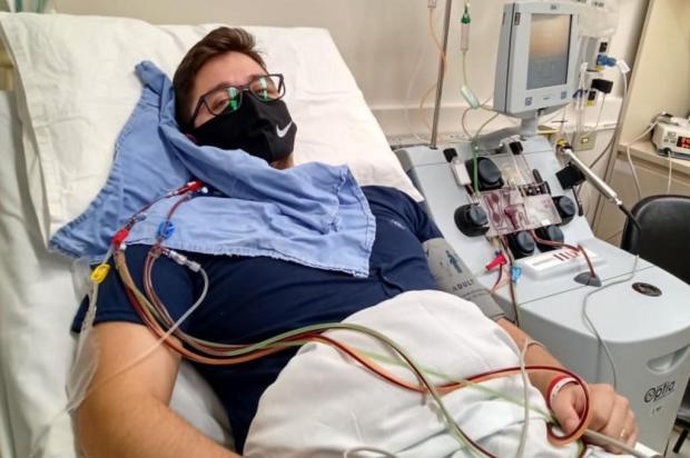 Prestes a receber transplante de medula, morador de Montenegro busca apoio para recuperar-se em casa Arquivo pessoal/Arquivo pessoal