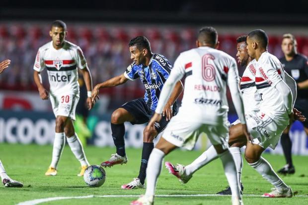 Cacalo: mesmo sem ser atendido pelo STJD, Grêmio precisava mostrar forças Lucas Uebel/Grêmio/Divulgação