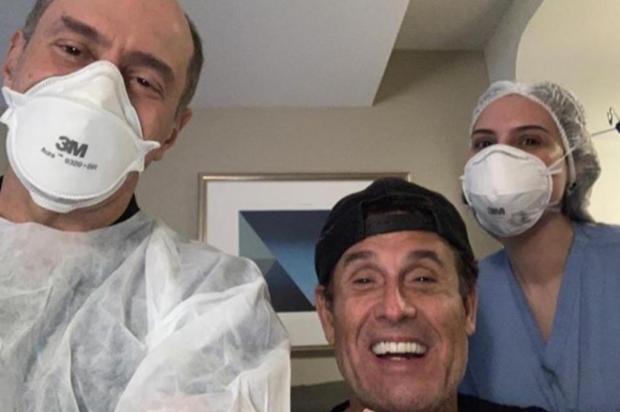 """Sérgio Mallandro recebe alta do hospital e comemora: """"Agora é yeah yeah"""" Reprodução/Instagram"""