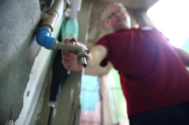 No novo normal, falta d'água típica do verão já é registrada em bairros da Capital Jefferson Botega/Agencia RBS