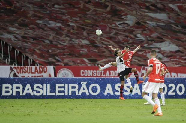 Guerrinha: empate com o Flamengo teve gosto amargo para o Inter Isadora Neumann/Agencia RBS