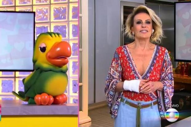 Ana Maria Braga revela que passou por cirurgia na mão Globo/Reprodução
