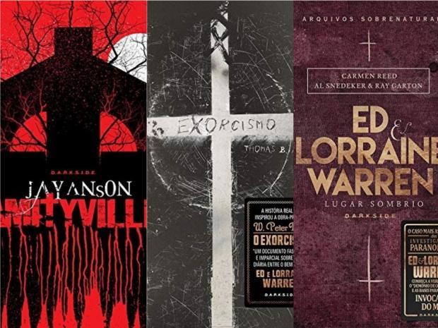 """Três livros assustadores """"baseados em fatos reais"""" Divulgação/"""