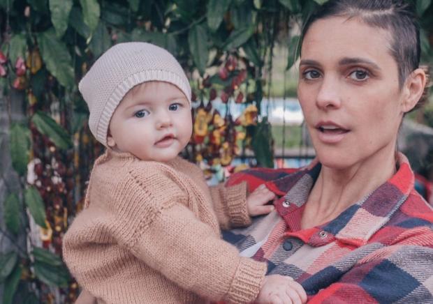 """Fernanda Lima comemora primeiro ano da filha: """"Jamais soltarei sua mão"""" Fernanda Lima Instagram / Reprodução/Reprodução"""