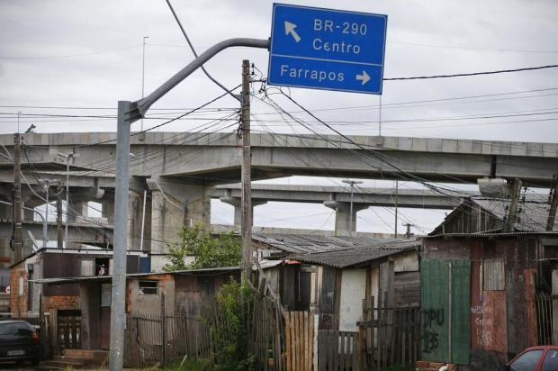 Mais de 600 famílias das vilas Areia e Tio Zeca, na Capital, sofrem com incerteza sobre reassentamento Félix Zucco/Agencia RBS