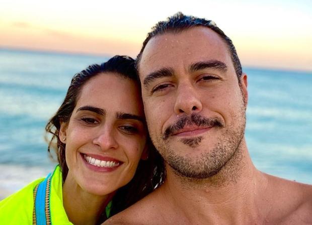 Joaquim Lopes e Marcella Fogaça anunciam gravidez de gêmeas Joaquim Lopes Instagram / Reprodução/Reprodução
