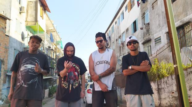 """""""Queremos colocar Porto Alegre no mapa do rap"""", diz rapper do grupo Crânios Crônicos Arquivo Pessoal/"""
