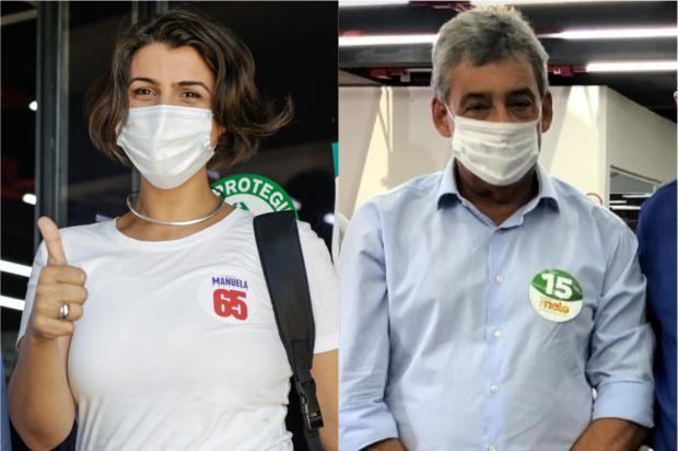 Confira o que Melo e Manuela propõem para seis regiões de Porto Alegre Danilo Christidis e Mateus Raugust / Divulgação/Divulgação