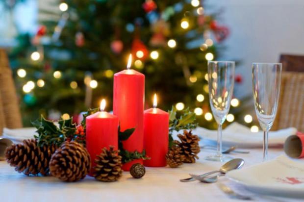 Confira dicas de decoração para fazer bonito na ceia de Natal Divulgação/DG