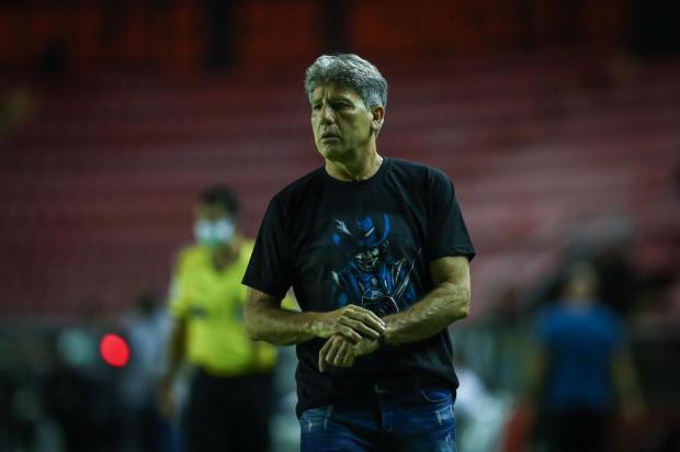 Guerrinha: o interesse do Atlético-MG em Renato Portaluppi Lucas Uebel/Grêmio/Divulgação