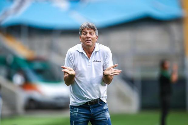 """Cacalo: Grêmio terá """"treino oficial"""" diante do Athletico-PR Lucas Uebel/Grêmio,Divulgação"""
