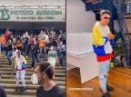 """MC Fioti grava novo clipe de """"Bum Bum Tam Tam"""" na sede do Butantan Reprodução / Instagram/Instagram"""