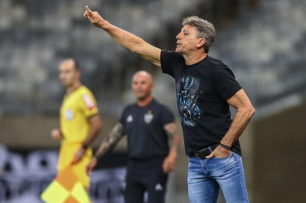 Cacalo: o dia do fico de Renato no Grêmio Lucas Uebel / Grêmio/Divulgação/Grêmio/Divulgação