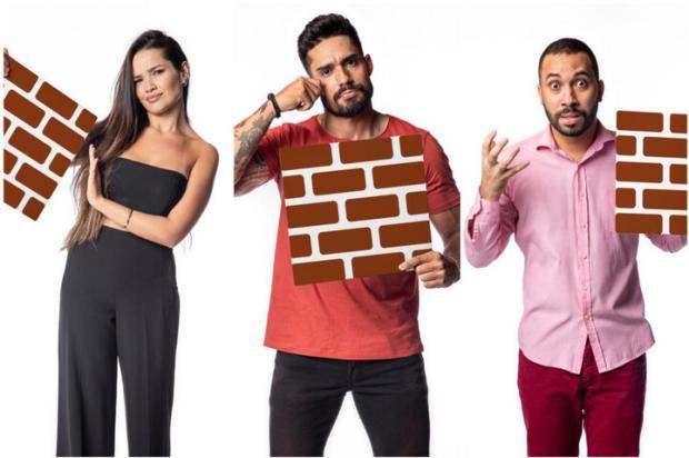"""""""BBB 21"""": Gilberto, Juliette e Arcrebiano disputam paredão; saída de Lucas repercute antes da votação Fábio Rocha / Globo/Globo"""