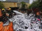 Incêndio destrói duas casas na zona sul de Porto Alegre Lauro Alves / Agência RBS/Agência RBS