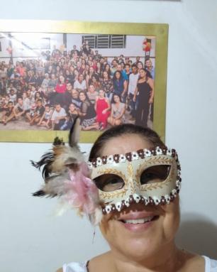 Família Souza da Silva, de Guaíba, faz aglomeração virtual para celebrar o Carnaval Arquivo Pessoal / Arquivo Pessoal/Arquivo Pessoal