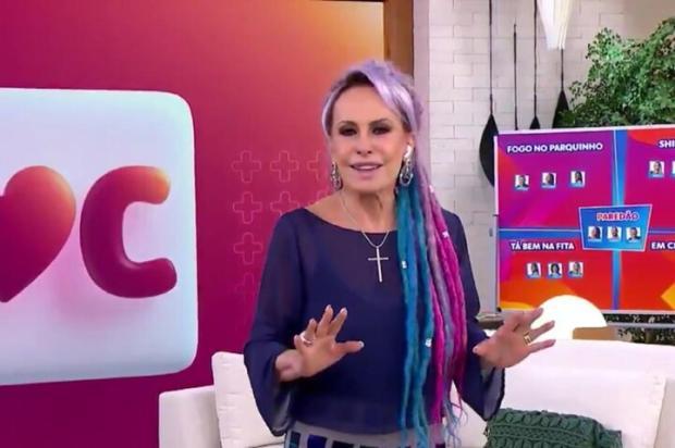 """Ana Maria Braga estreia novo estúdio do """"Mais Você"""" com look de 1999 e homenagem a Louro José Reprodução / Globoplay/Globoplay"""