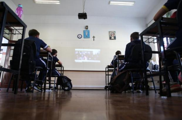 Retomada das aulas presenciais no auge da pandemia no RS: veja opiniões de infectologistas Antonio Valiente / Agencia RBS/Agencia RBS