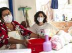 """Um ano depois, """"Amor de Mãe"""" volta ao ar com máscaras, álcool gel e distanciamento João Miguel Júnior / TV Globo/Divulgação/TV Globo/Divulgação"""