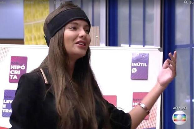 Ex-BBB Thaís Braz reata com ex-namorado Reprodução / TV Globo/TV Globo