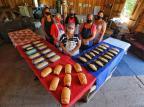 Na produção de pães, grupo de mulheres de ocupação de São Leopoldo encontra apoio e renda Lauro Alves / Agencia RBS/Agencia RBS