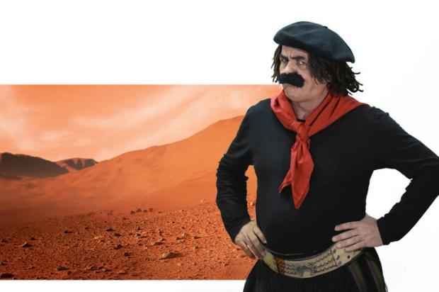 """Guri de Uruguaiana, sobre as fotos inéditas de Marte: """"Seria mais fácil ter ido nas dunas de Cidreira"""" Artebiz / Divulgação/Divulgação"""