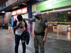 Após desencontro com namorada virtual, jovem de Gravataí é resgatado em SP por policiais Polícia Militar de Gravataí / Divulgação/Divulgação