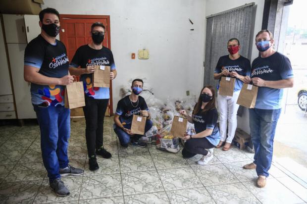Grupos da Região Metropolitana promovem ações solidárias de Páscoa André Ávila / Agencia RBS/Agencia RBS